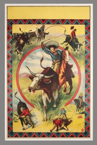 Image A front cover Rodeo poster